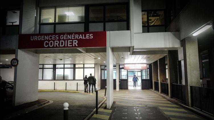 Les urgences générales Cordier de l'hôpital de la Pitié-Salpêtrière, à Paris. (LUC NOBOUT / MAXPPP)