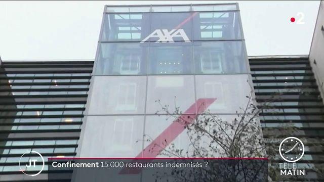 Covid: Axa devrait débloquer 300 millions d'euros pour débloquer 15 000 restaurateurs