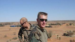 La guerre laisse des séquelles physiques et mentales à de nombreux soldats. Deux soldats témoignent au micro de France 2. (FRANCE 2)