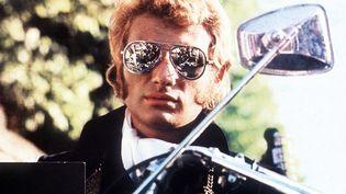 "Johnny Hallyday en 1968, dans le film ""A tout casser"". (NANA PRODUCTIONS / SIPA / SIPA)"