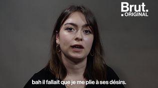 VIDEO. Violences conjugales à l'adolescence : Capucine témoigne (BRUT)