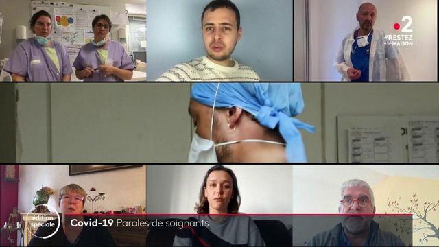 Coronavirus: les soignants en première ligne de l'épidémie témoignent