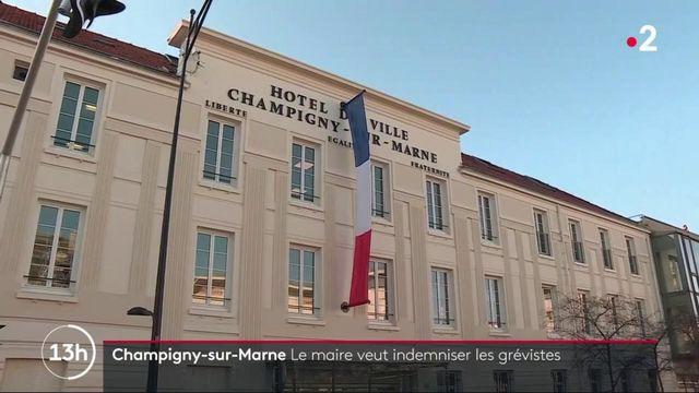 Champigny-sur-Marne : le maire veut indemniser les grévistes
