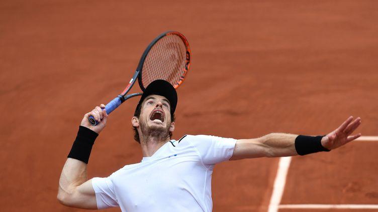 Andy Murray, lors de Roland-Garros 2017