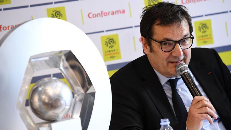 Didier Quillot, le directeur général de la LFP. (FRANCK FIFE / AFP)