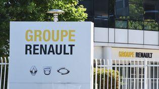 Le siège social de Renault, à Boulogne-Billancourt(Hauts-de-Seine), le 29 mai 2020. (ERIC PIERMONT / AFP)
