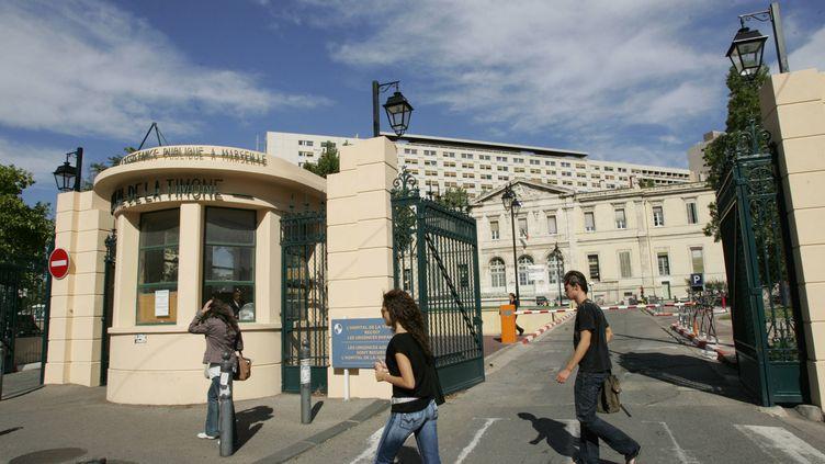 Vue générale de l'Hopital de la Timone, à Marseille, prise le 18 septembre 2006 . (ANNE-CHRISTINE POUJOULAT / AFP)