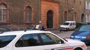 La maison d'arrêt de Colmar en Alsace, le 28 août 2007. (MAXPPP)