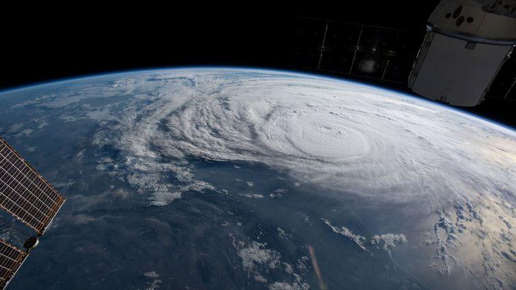Harvey est le plus puissant ouragan à frapper le Texas depuis plus de 50 ans,comme le laisse devinercette photo prise depuis la Station spatiale internationale. (NASA / REUTERS)