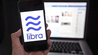 Le logo Libra, le 2 août 2019. (DAINA LE LARDIC/ISOPIX/SIPA)