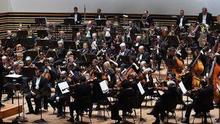 L'Orchestre National de Lille, ici en 2014.  (Pierre Le Masson / Photo PQR Voix du Nord / MaxPPP)