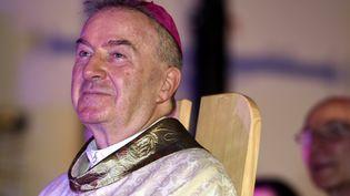 Luigi Ventura, nonce apostolique en France, le 4 décembre 2016 à Epinal (Vosges). (MAXPPP)