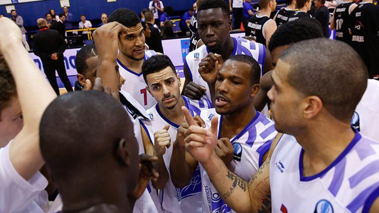 L'équipe du Paris-Levallois  (ANTHONY MASSARDI / MAXPPP)
