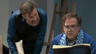 """Didier Bourdon et Thierry Frémont dans """"Les Inséparables""""  (France 3 / Culturebox )"""