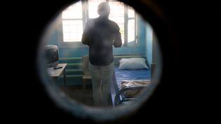 Dans la prison de Clairvaux, à Ville-sous-la-Ferté (Aube), en 2015. (FRANCOIS NASCIMBENI / AFP)