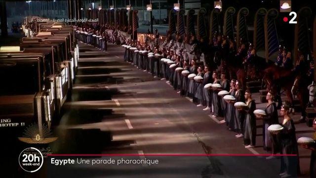 Égypte : une cérémonie impressionnante pour honorer des momies royales