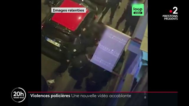 Producteur passé à tabac par des policiers : une nouvelle vidéo accablante