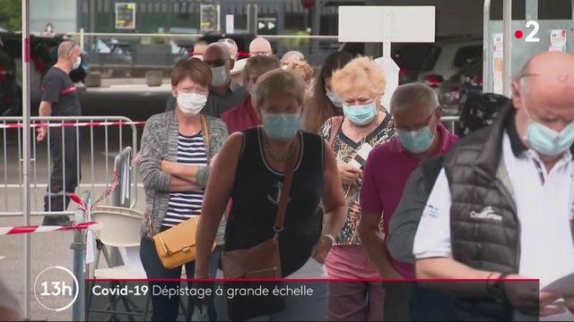 Coronavirus : une campagne de tests à grande échelle va débuter