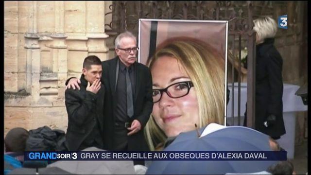 Mort d'Alexia Daval : les habitants de Gray rendent hommage
