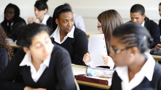 Des élèves de l'internat d'excellence de Sourdun (Seine-et-Marne), le 9 mars 2012. (JEROME MARS / JDD / SIPA)