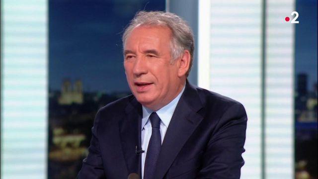 """François Bayrou, futur haut-commissaire au Plan : """"Ce n'est pas un poste de ministre"""""""