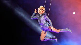 Lady Gaga en février 2017 au Texas  (Kevin C. Cox / GETTY IMAGES NORTH AMERICA / AFP)