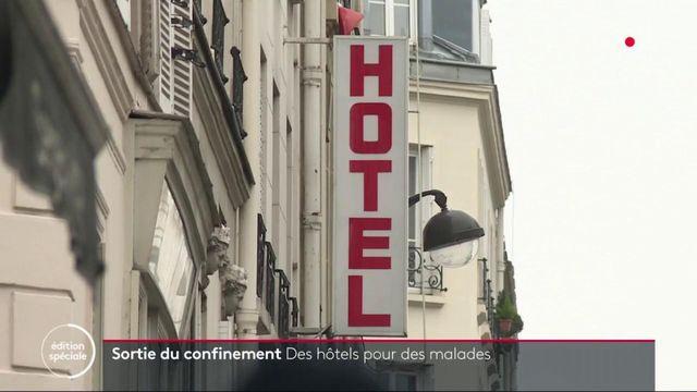 Sortie du confinement :  vers des hôtels pour des malades à Paris ?