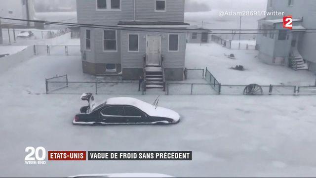 États-Unis : vague de froid sans précédent