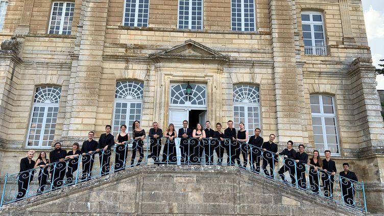 Le Choeur d'adultes de la Maîtrise Notre-Dame de Paris en 2019. (MUSIQUE SACREE A NOTRE-DAME DE PARIS)