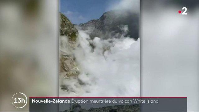 Nouvelle-Zélande : au moins cinq morts et 18 blessés après une éruption volcanique