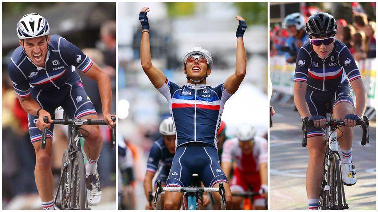 Julian Alaphilippe, Benoît Cosnefroy et Audrey Cordon-Ragot ont été les coureurs les plus en vue cette semaine, côté bleu.