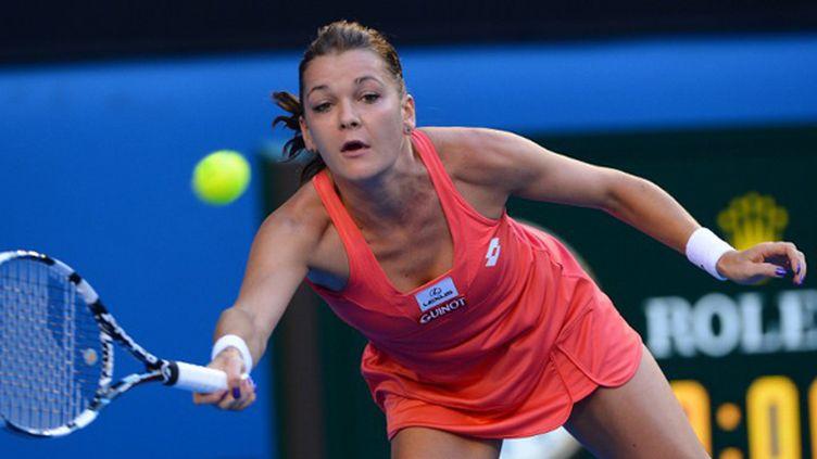 Agnieszka Radwanska (WILLIAM WEST / AFP)