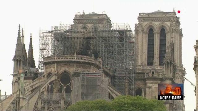Incendie de Notre-Dame de Paris : il faut consolider la structure