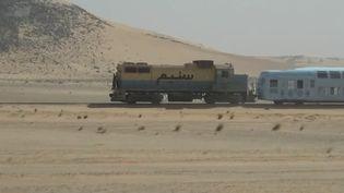 """Le """"train du désert"""" en Mauritanie (Capture d'écran France 2)"""