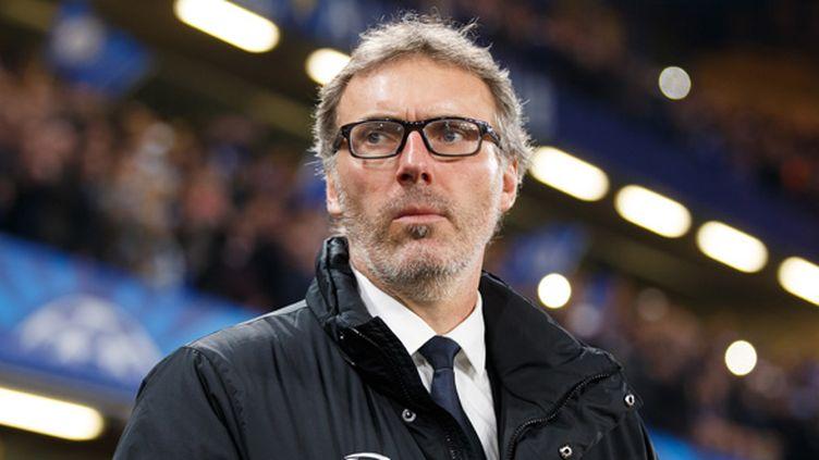 L'entraîneur du PSG, Laurent Blanc.  (  BEN QUEENBOROUGH / BACKPAGE IMAGES LTD)