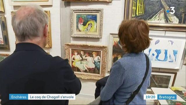 Vente aux enchères d'un Chagall à Brest