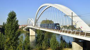 Le tramway à Strasbourg (Bas-Rhin), le 15 septembre 2019. (MATTES RENE / HEMIS.FR / AFP)