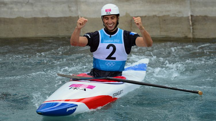 Tony Estanguet champion olympique (OLIVIER MORIN / AFP)