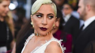 Lady Gaga au 25e Screen Actors Guild Awards à Los Angeles le 27 janvier 2019.  (ROBYN BECK / AFP)