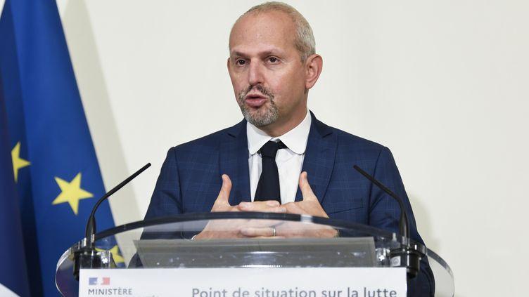 Le directeur général de la santé, Jérôme Salomon, le 19 novembre 2020 à Paris. (BERTRAND GUAY / AFP)