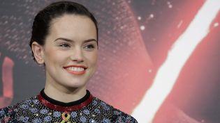 """L'actrice britannique Daisy Ridley, rôle principal dans """"Le Réveil de la force"""", le nouveau """"Star Wars""""  (Kiyoshi Ota / EPA / MAXPPP)"""