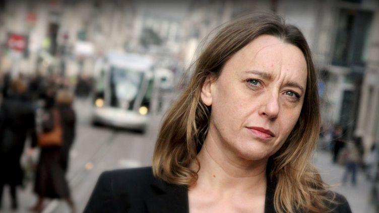 Virginie Despentes à Nancy (8 mars 2012)  (PhotoPQR / Le Républicain Lorrain / Anthony Picore / MaxPPP)