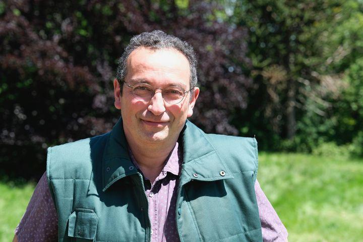 Marc Mennessier a repris l'an dernier les rênes du trouve-plante. (ISABELLE MORAND / RADIO FRANCE / FRANCE INFO)