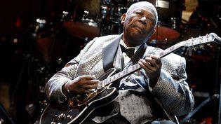 B.B. King annule les huit derniers concerts de sa tournée  (JUAN CARLOS ROJAS / NOTIMEX)