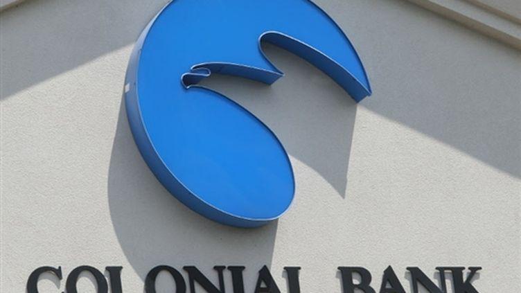 Le logo de la Colonial Bank, fermée pour faillite le 14 août 2009 (© France)