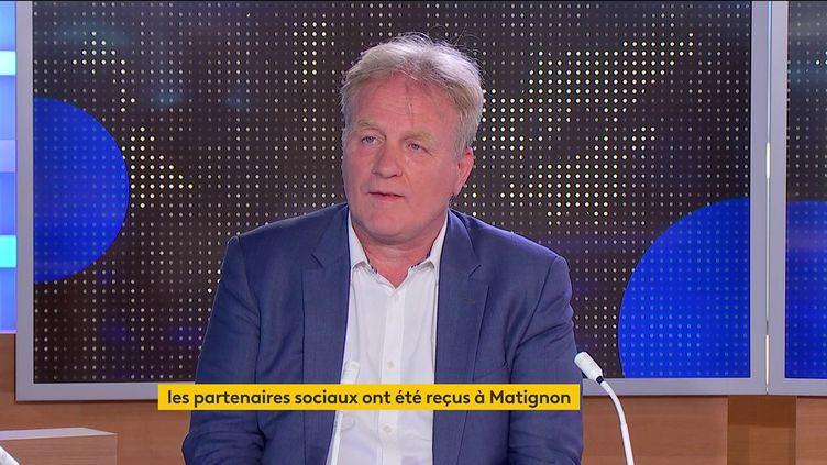 François Hommeril (FRANCEINFO)