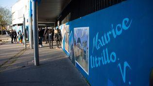 Le lycée Maurice Utrillo, le 10 avril 2018. (LP/ JEAN NICHOLAS GUILLO / MAXPPP)