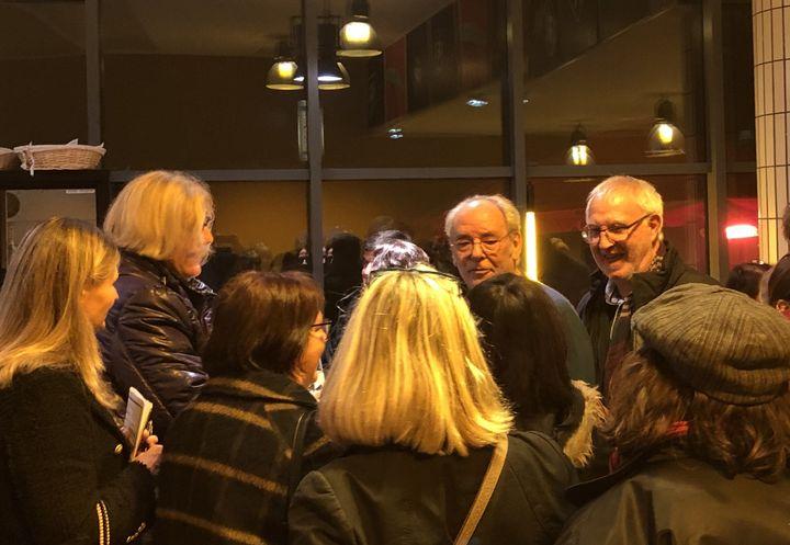 Maxime le Forestier après le concert du 4 décembre au Radiant à Caluire (Lyon) (Jean-François Convert)