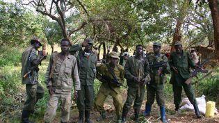 Des soldats du LRA lors des négociations de paix en 2008. (Africa24 Media/Camerapix/Mark Mu / Africa Twenty-Four Media Ltd.)