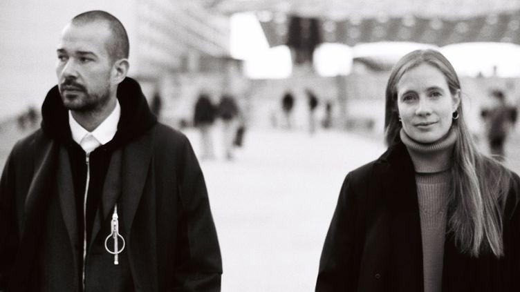 Lucie et Luke Meier, directeurs artistiques de Jil Sander  (DR)